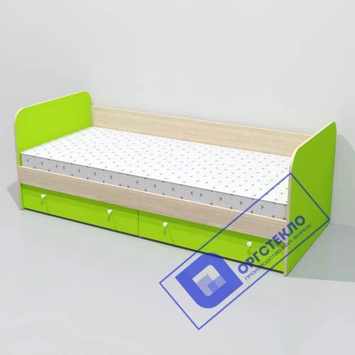 Кровать 1930*850*710 с боковой спинкой