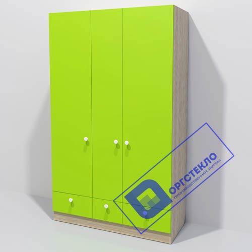 Шкаф 1200*500*2000 зеленый