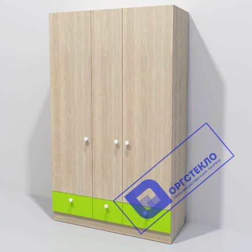 Шкаф 1200*500*2000 с нижними ящиками