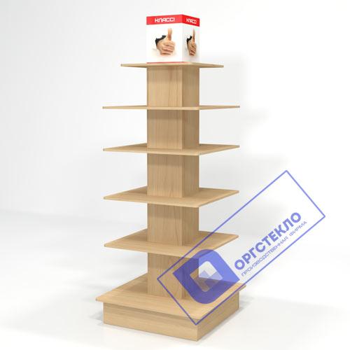 Стеллаж-колонна высокий