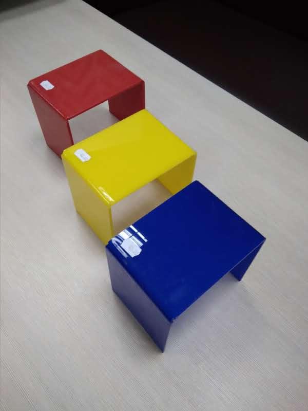 Форма одинарная из цветного оргстекла