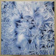 Картина без рамы Зимние узоры