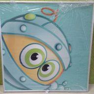 Картина в алюминиевой рамке Биби