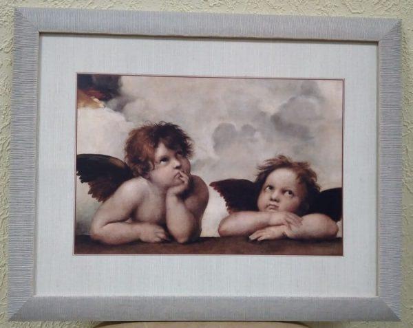 Интерьерная печать на бумаге «Ангелы»