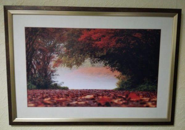 Картина в декоративной рамке 650x450 мм