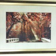 Картина в раме Осенний сад 450x350 мм