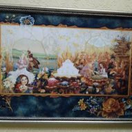 Картина в декоративной рамке цветная 425х295 мм
