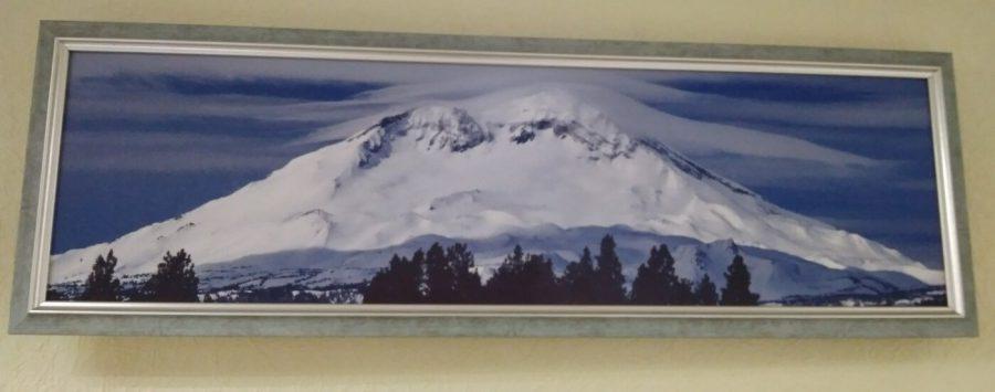 Картина в декоративной рамке 740х240 мм