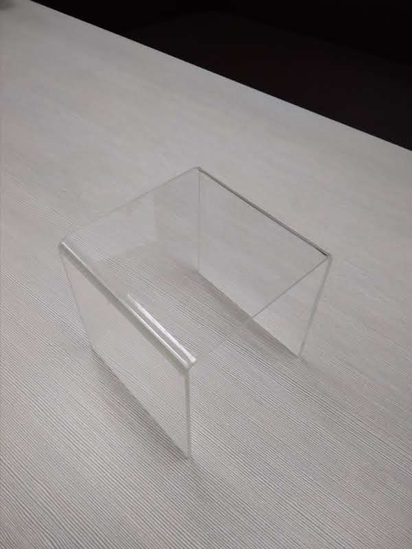 Ступень одинарная из прозрачного оргстекла