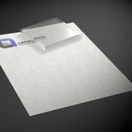 Утяжелитель-прижим для ткани и бумаги