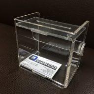 Ящик для сбора пожертвований 130х120х90 мм